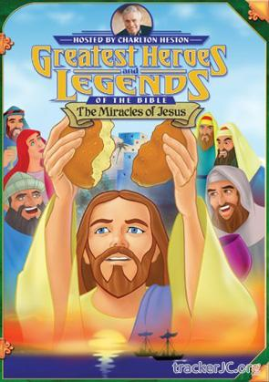 Великие Библейские герои и истории - Чудеса Иисуса Greatest heroes and legends of the Bible The miracles of Jesus (1998) DVDRip