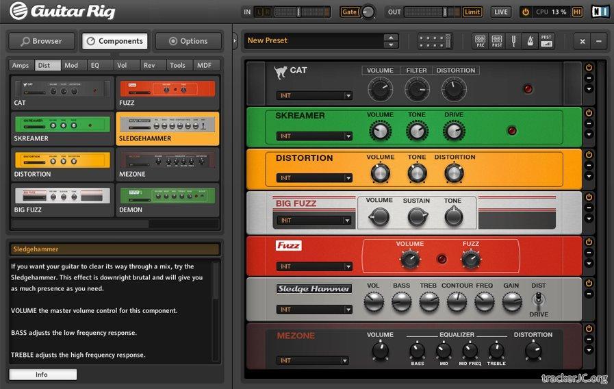 190 444 Скачать Guitar Rig 4 PRO + Crack (Keygen); Описание, скриншот.
